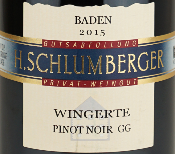 Weingut Schlumberger-Bernhart Pinot Noir Wingerte GG