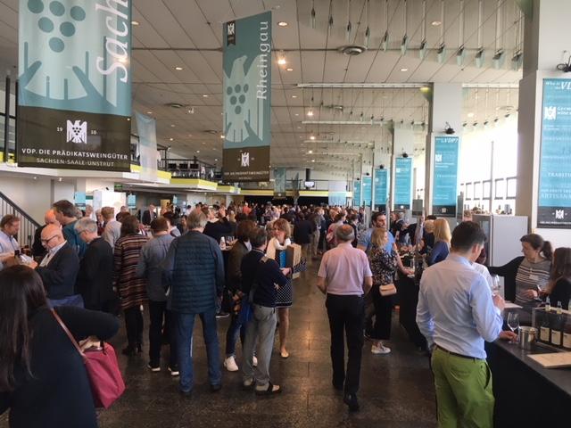 VDP. Weinbörse Jahrgangspräsentation 2017 in Mainz