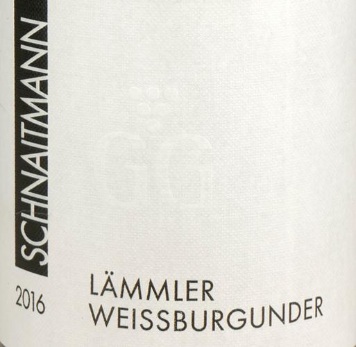 Schnaitmann Lämmler Weissburgunder GG